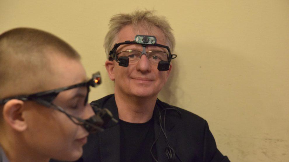 Workshops Eye-tracking in art/Biofeedback in art