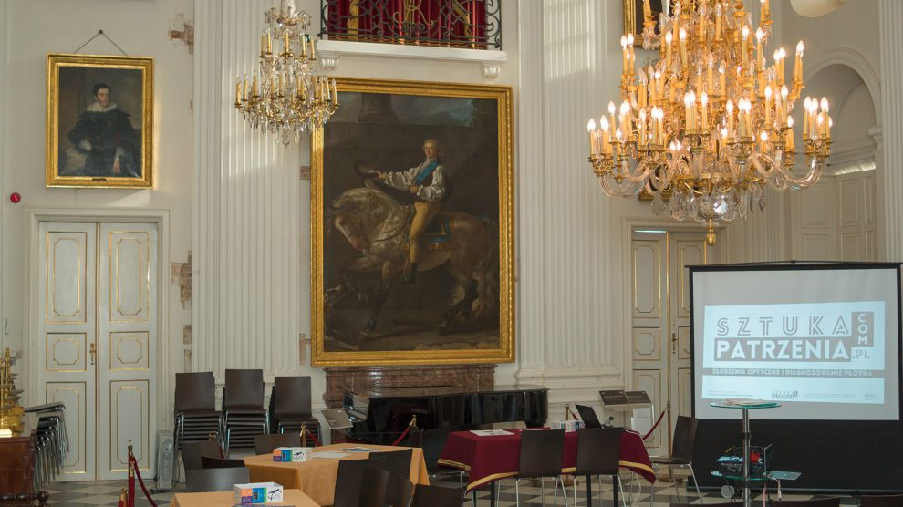 """The end of """"The art of seeing"""" workshop series at the Wilanow Palace Museum"""